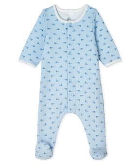 Bodyjama de tela túbica para azul Fraicheur / blanco Multico