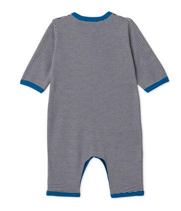 Pelele de rayas para bebé niño