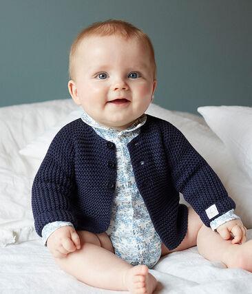 Cárdigan para bebé de punto 100 % algodón