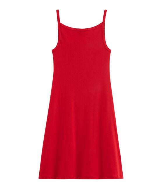 Vestido de tirantes para mujer rojo Terkuit