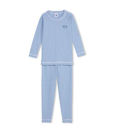 Pijama azul Alaska / blanco Ecume