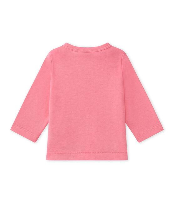 Cárdigan para bebé niña rosa Petal