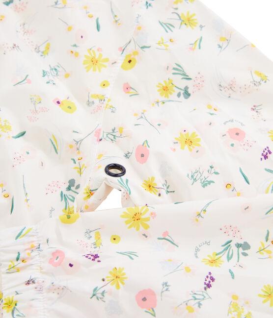 Cortavientos de niña blanco Marshmallow / blanco Multico