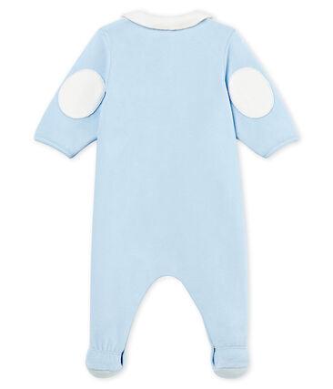 Pelele de terciopelo de algodón liso para bebé niño