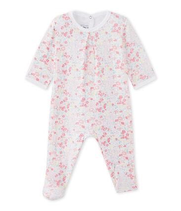 Pijama en túbico para bebé niña
