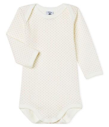 Body de manga larga para bebé niña