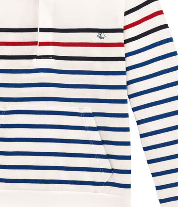 Camiseta con capucha de manga larga