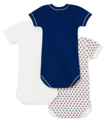 Tiro de bodis de manga corta para bebé niña