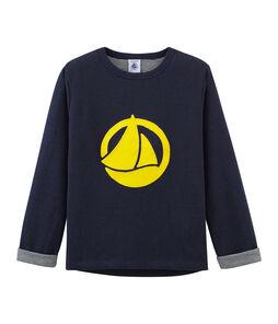 Camiseta manga larga infantil para niño