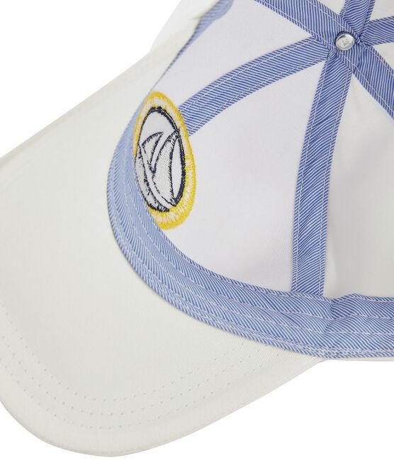 Gorra de sarga niño blanco Marshmallow