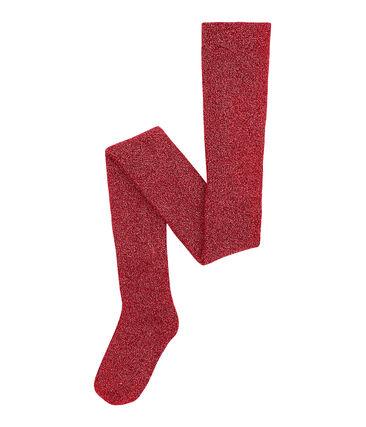 Pantis infantiles para niña rojo Terkuit