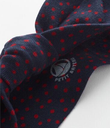 Diadema con lazo para niña azul Smoking / rojo Terkuit