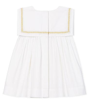 Vestido de ceremonia para bebé niña blanco Ecume