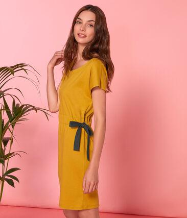 Vestido manga corta para mujer