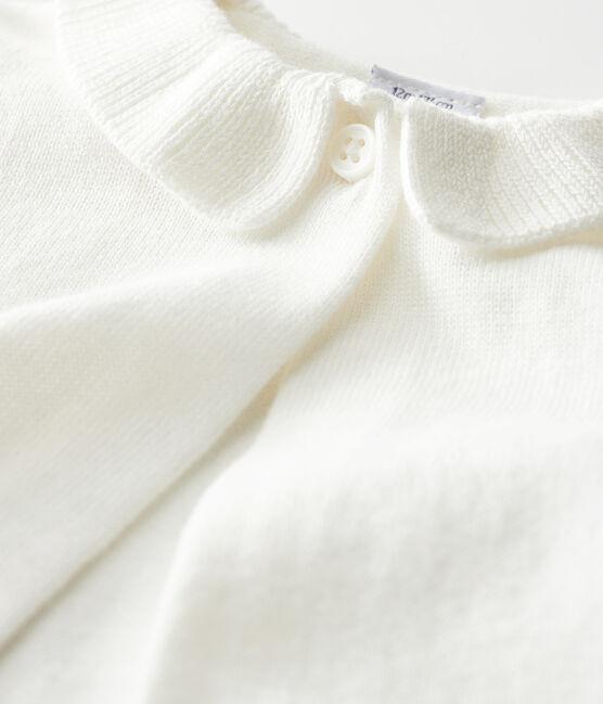 Bolero para bebé niña blanco Marshmallow