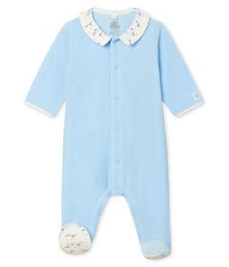 Pelele de terciopelo para bebé niño