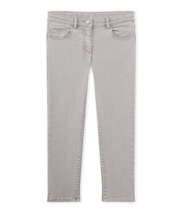 Pantalón de niño en tejano gris