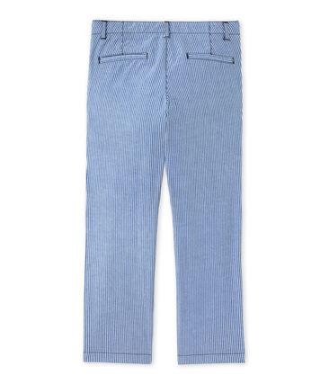Pantalón chino de rayas para niño