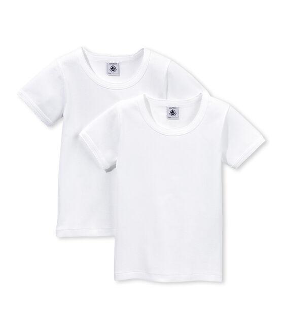 Par de camisetas manga corta para chica lote .