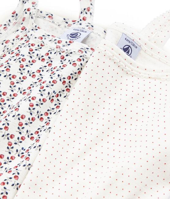 Par de camisas de tirantes para niña lote .