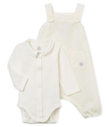 Conjunto 2 piezas ceremonial de lino para bebé niño