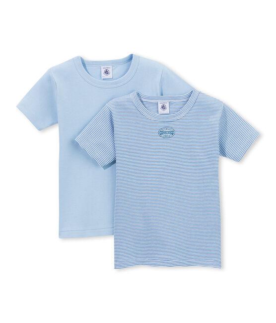 Lote de 2 camisetas mil rayas para niño lote .