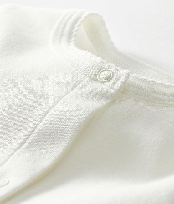 Cárdigan ligero para bebé niña blanco Marshmallow