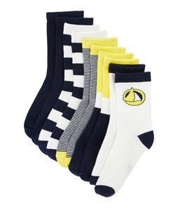 Lote de 5 pares de calcetines niño lote .