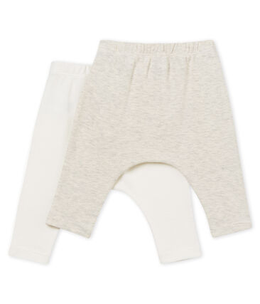 Lote de 2 leggings para bebé unisex