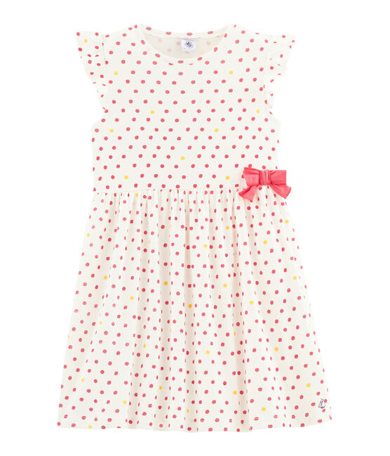 Vestido de niña blanco Marshmallow / blanco Multico