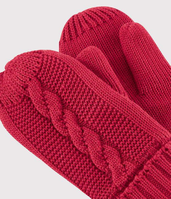 Manoplas para niña/niño rojo Terkuit