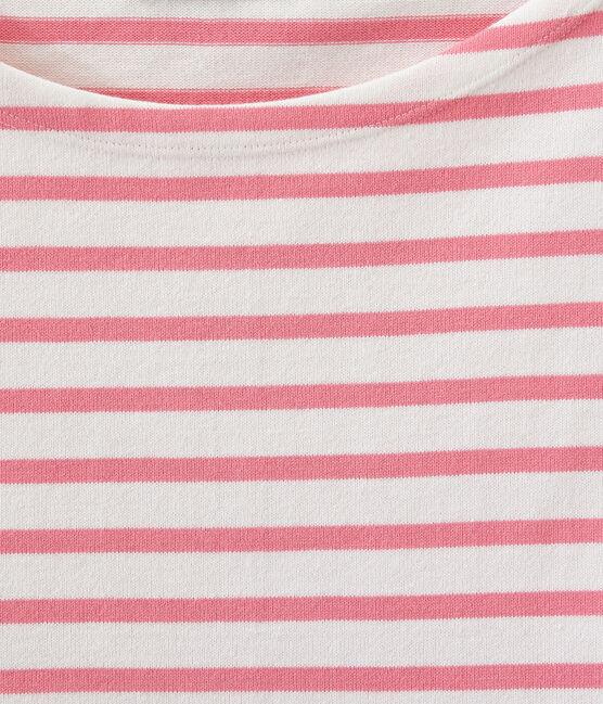 Marinera icónica blanco Marshmallow / rosa Petal