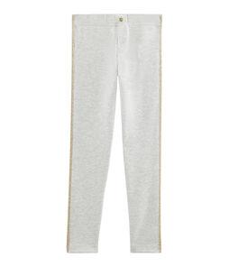 Pantalón de niña gris Beluga