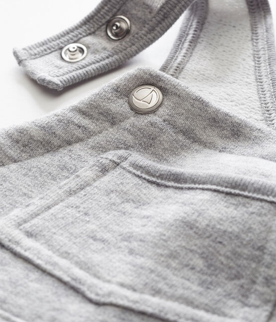 Peto para bebé niño en malla gris Gris