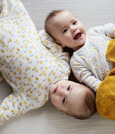Tres bodis de nacimiento de manga larga para bebé niña lote .