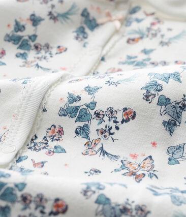 Pelele Para bebé de niña blanco Marshmallow / blanco Multico