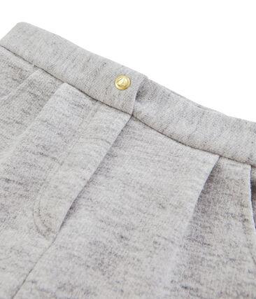 Pantalón para niña gris Vicky Bleu Chine