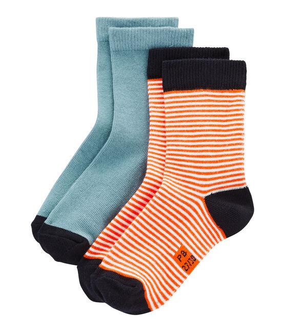 Lote de 2 pares de calcetines infantiles unisex lote .