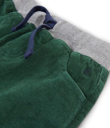 Pantalón de terciopelo para niño