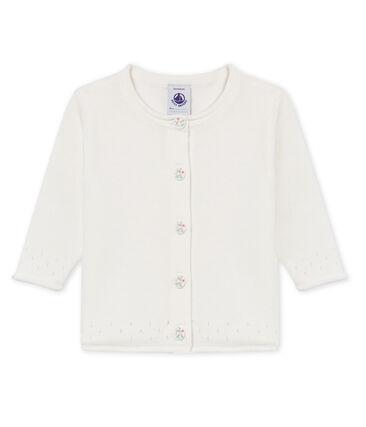 Cárdigan 100% algodón para bebé niña