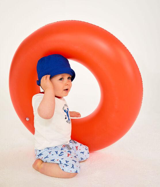 Sombrero bob de sarga bebé mixto azul Surf