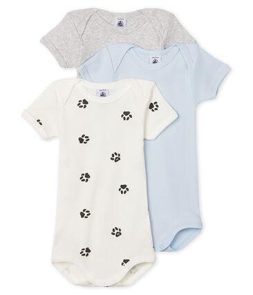 Tres bodis de manga larga para bebé niño