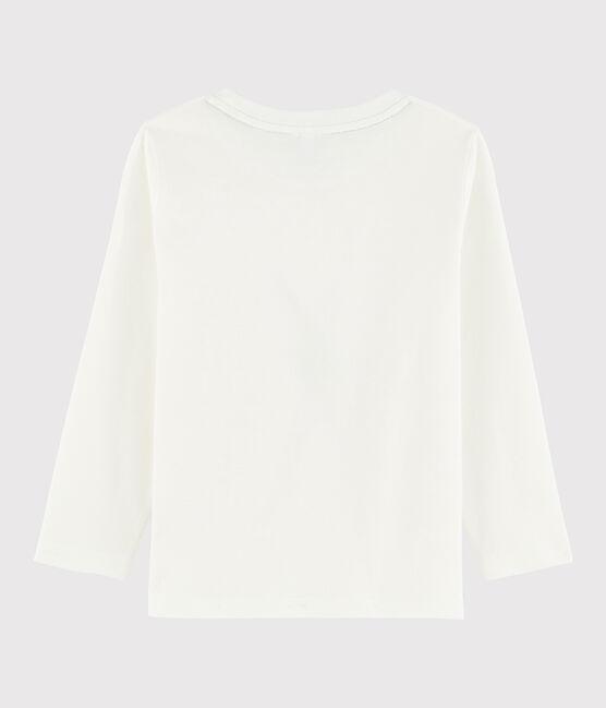 Camiseta serigrafiada para niño blanco Marshmallow