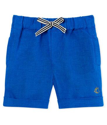 Shorts de lino para bebé niño