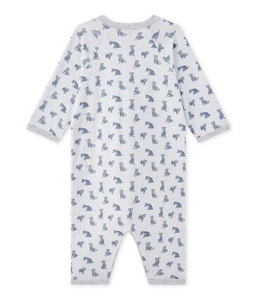Pijama sin pies en túbico para bebé niño