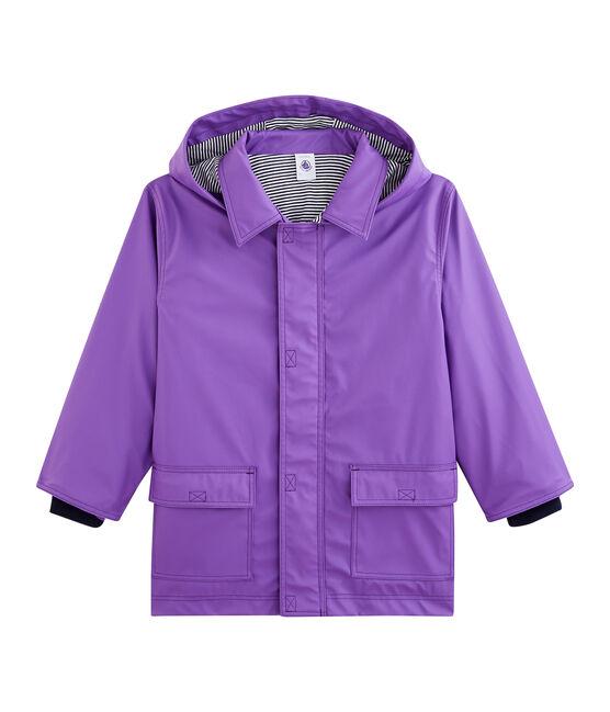 Chubasquero para niño y niña violeta Real