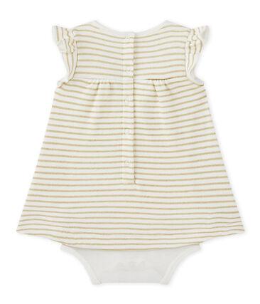 Vestido body de rayas bebé niña