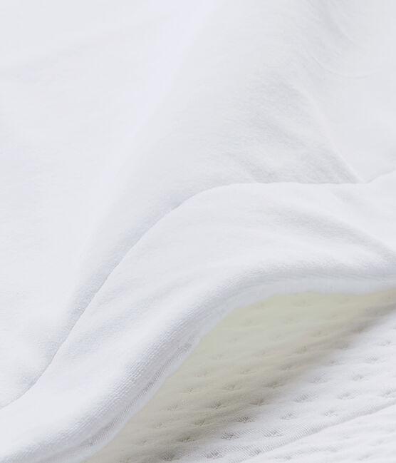 Arruyo bi-materia de bebé unisex blanco Ecume