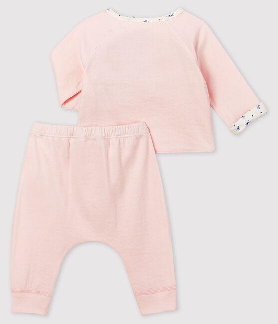 Conjunto de regalo rosa para bebé niña de túbico lote .