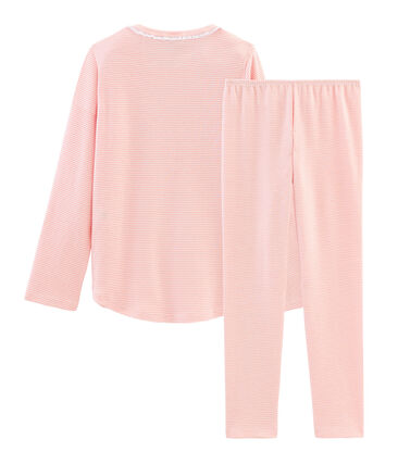 Pijama de punto para niña